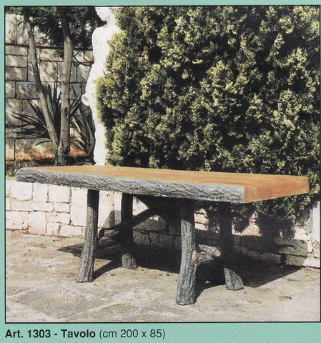 Tavoli E Panche Fedelgarden